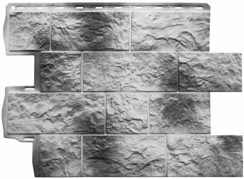 Фасадная панель Туф (камчатский)