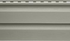Панель виниловая Альта-Сайдинг серо-зеленая, 3,66м