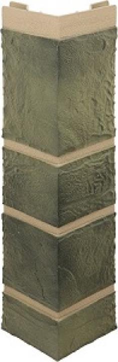 Наружный угол Камень малахит