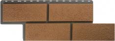 Фасадная панель Камень Неаполитанский (персиковый)